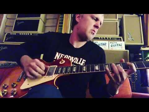 Joe Bonamassa Jamming at Home on a 1959 Lester model Les Paul