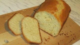 Пшеничный хлеб в хлебопечке MOULINEX 6002 (из готовой смеси)