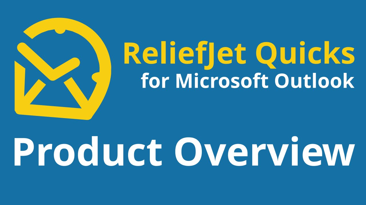 Quick Folders - ReliefJet for Outlook