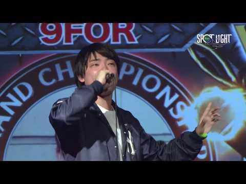 '9FOR vs ミメイ' / SPOTLIGHT 2017 MC BATTLE