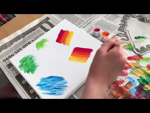 Blending Painting Technique