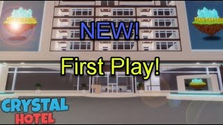 Roblox Crystal Hotel: First Play!