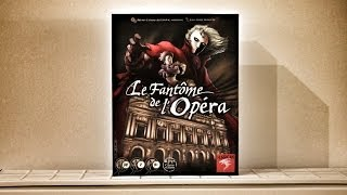 Das Phantom der Oper - Brettspiel Test - Board Game Review #2