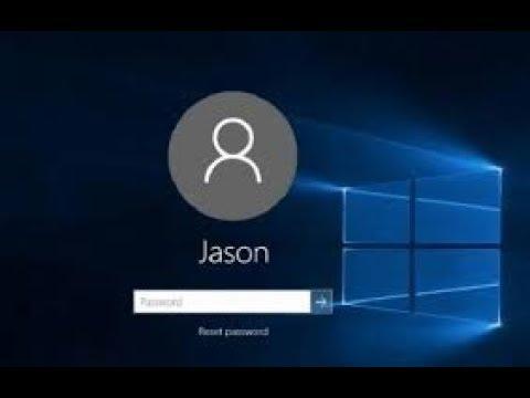 Thêm xóa người dùng xóa tài khoản account microsoft windows 10 remove password lock screen