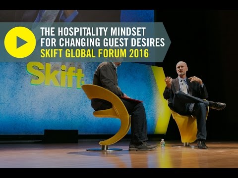 Airbnb Head of Global Hospitality & Strategy Chip Conley at Skift Global Forum 2016