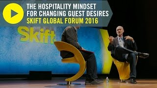 Airbnb Head of Global Hospitality & Strategy Chip Conley at Skift Global Forum 2016 thumbnail