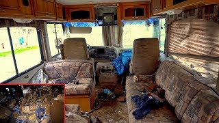 Strange Owner Abandoned Stuff inside RV, Boat, Barber Shop & 1990