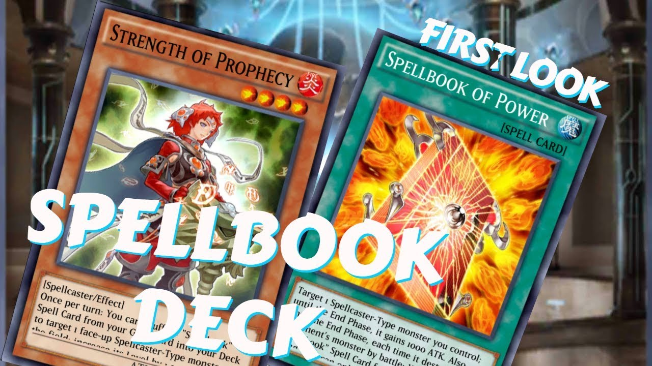 Spell Book Prophecy Deck First Look [ Yu - Gi - Oh! Duel Links]