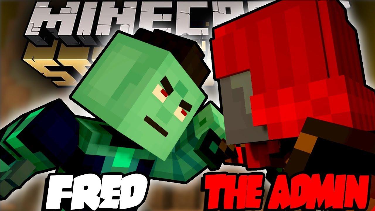 The Admin Romeo Vs Fred Minecraft Story Mode Season 2