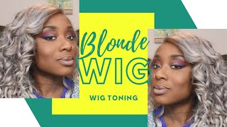 Customizing 613 to ash blonde wig | From basic to baddie blonde