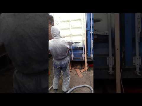 утепление контейнера