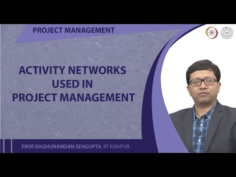 Activity Networks used in Project Management