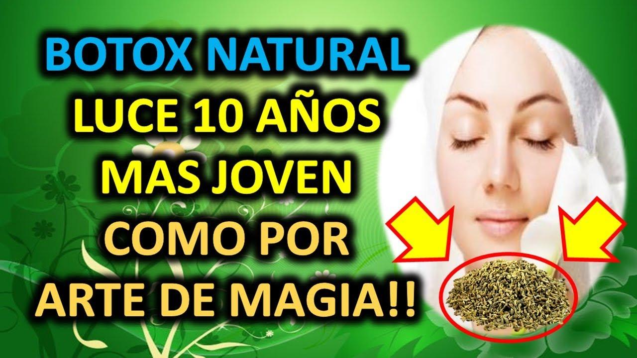 BOTOX NATURAL - LUCE 10 AÑOS MAS JOVEN COMO POR ARTE DE MAGIA