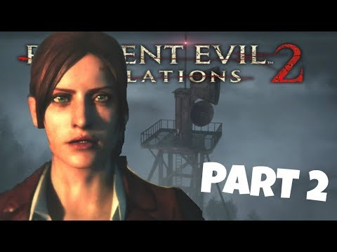 RELEASING THE PRISONERS + RADIO TOWER | Resident Evil: Revelations 2| Playthrough part 2