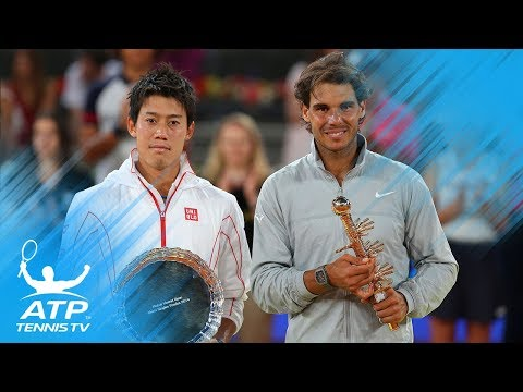 Nadal v Nishikori: Great Rallies from Madrid 2014 & Barcelona 2016 Finals