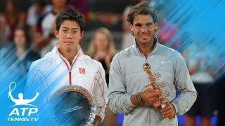 Nadal v Nishikori: Great Rallies from Madrid 2014 & Barcelona 2016 Finals