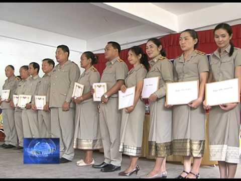 Laos National Television 18h Ngay 08 10 2015