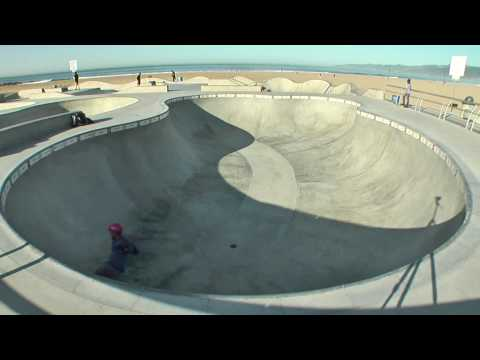 Venice Beach Skatepark - Morning Session - February 2010