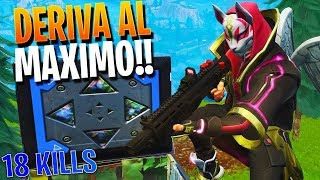 I GET THE SKIN OF DERIVA TO THE MAXIMUM LEVEL!! | FORTNITE: Bataille Royale ? Rubinho vlc