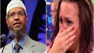 امرأة تسأل الشيخ ذاكر نايك سؤال مؤثر جداً يجعلها تبكي بكاءً شديداً ولكن رد الشيخ كان صادم جداَ