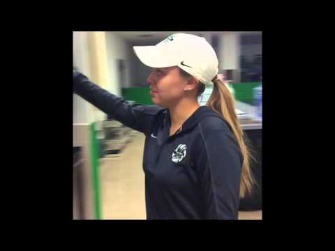 Day in the life of a Marshall University athletic training student