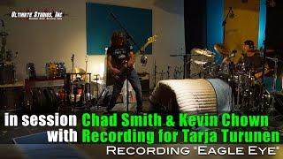 "Chad Smith & Kevin Chown Recording ""Eagle Eye"" for Tarja Turunen"