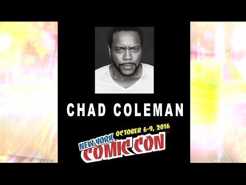 Chad L. Coleman @ New York Comic Con 2016.