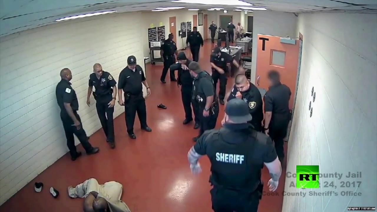 لمن الغلبة سجين و10 حراس في سجن أمريكي Youtube