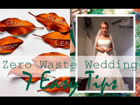 7 Easy Tips // Eco-Friendly Wedding