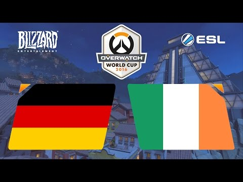 Overwatch - Germany vs. Ireland - Overwatch World Cup - Group A