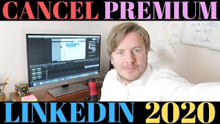 How To Cancel LinkedIn Premium Subscription 2020