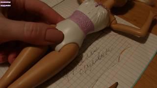 Шьем платье для Барби  / выкройка / весь процесс