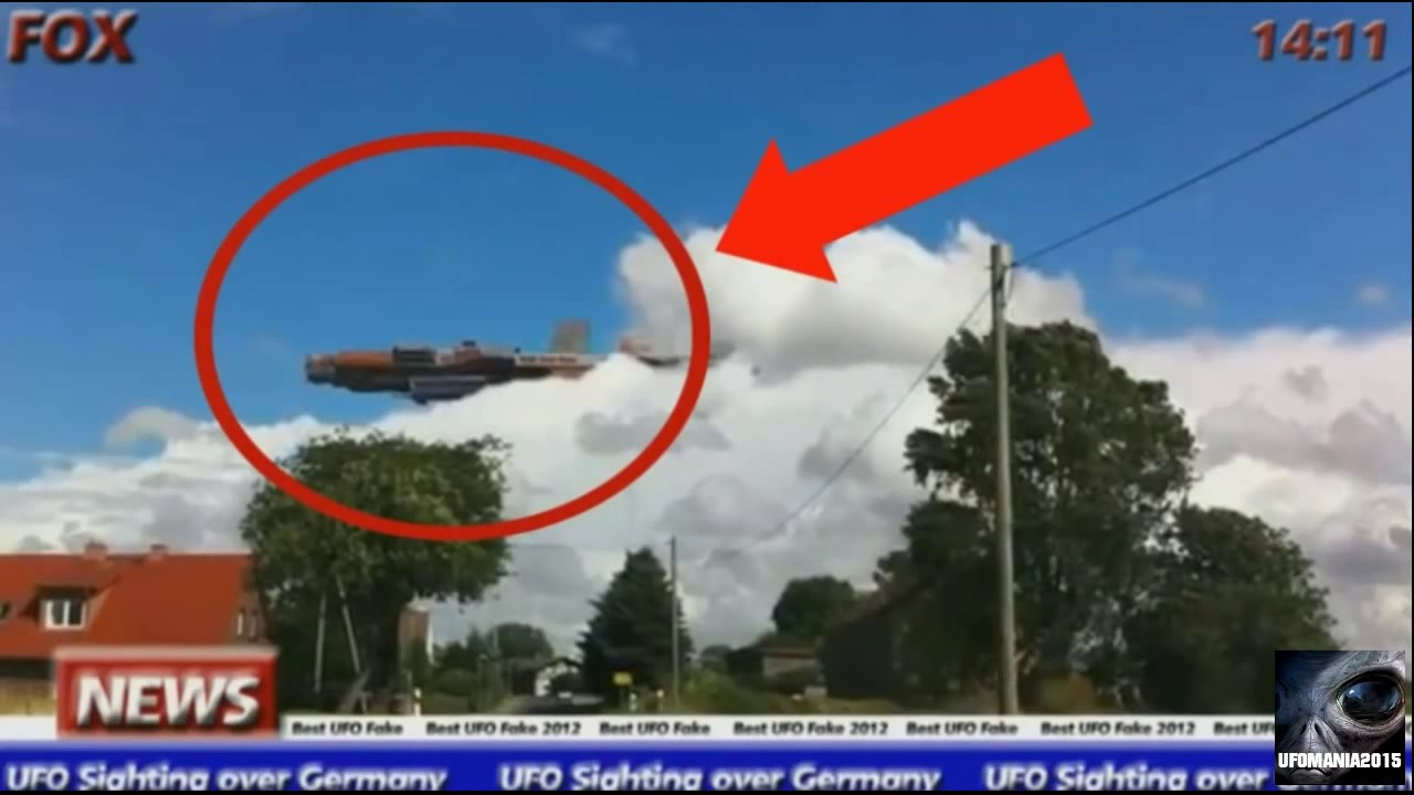 The Most Incredible UFOs Ever Caught on Tape real footage ...
