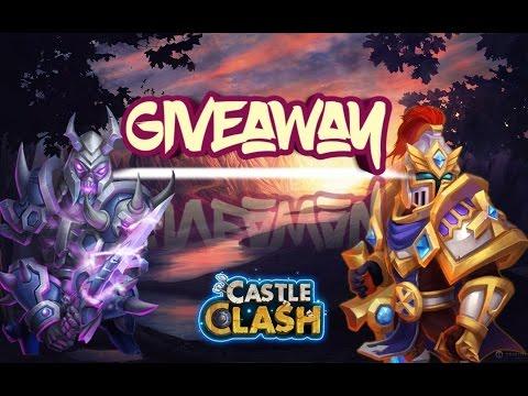 Castle Clash Account Giveaway 2017