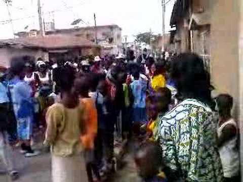 GAMBIA - NEW YEAR 2008 HUNTING IN BANJUL