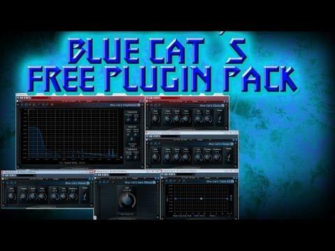Blue Cat´s free plugin pack  Chorus, flanger, phaser, EQ, freq analyzer, gain