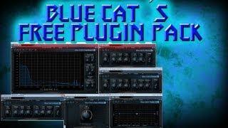 Blue Cat´s free plugin pack - Chorus, flanger, phaser, EQ, freq analyzer, gain