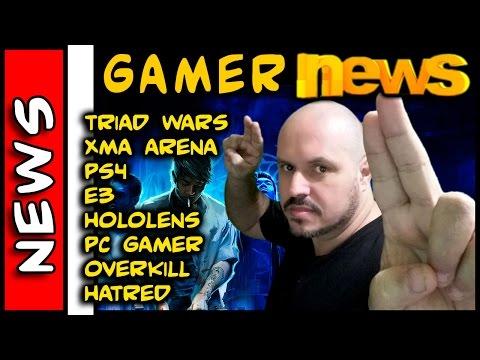 Gamer News . Triad Wars MMO GTA Like, E3, PS4, XMA, Hololens, Microsoft, PC Gamer