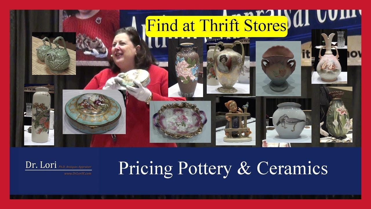 Pricing Pottery and Ceramics: Vases, Bowls, Figurines and more by Dr. Lori