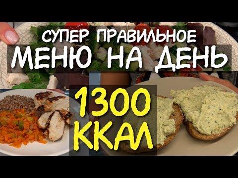 ДНЕВНИК ПИТАНИЯ на день на 1300 ккал / Что есть в течение дня МОТИВАЦИЯ НА ПОХУДЕНИЕ система питания