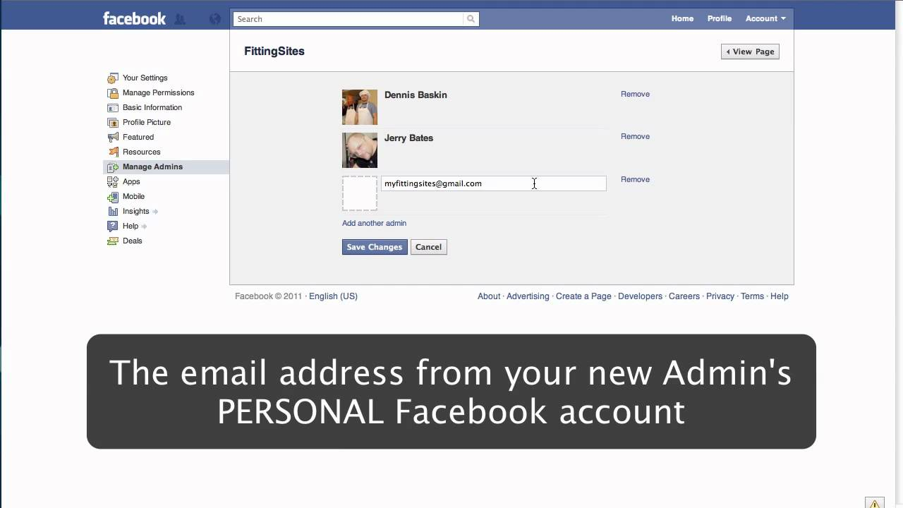 how to tell if your an admin on facebook
