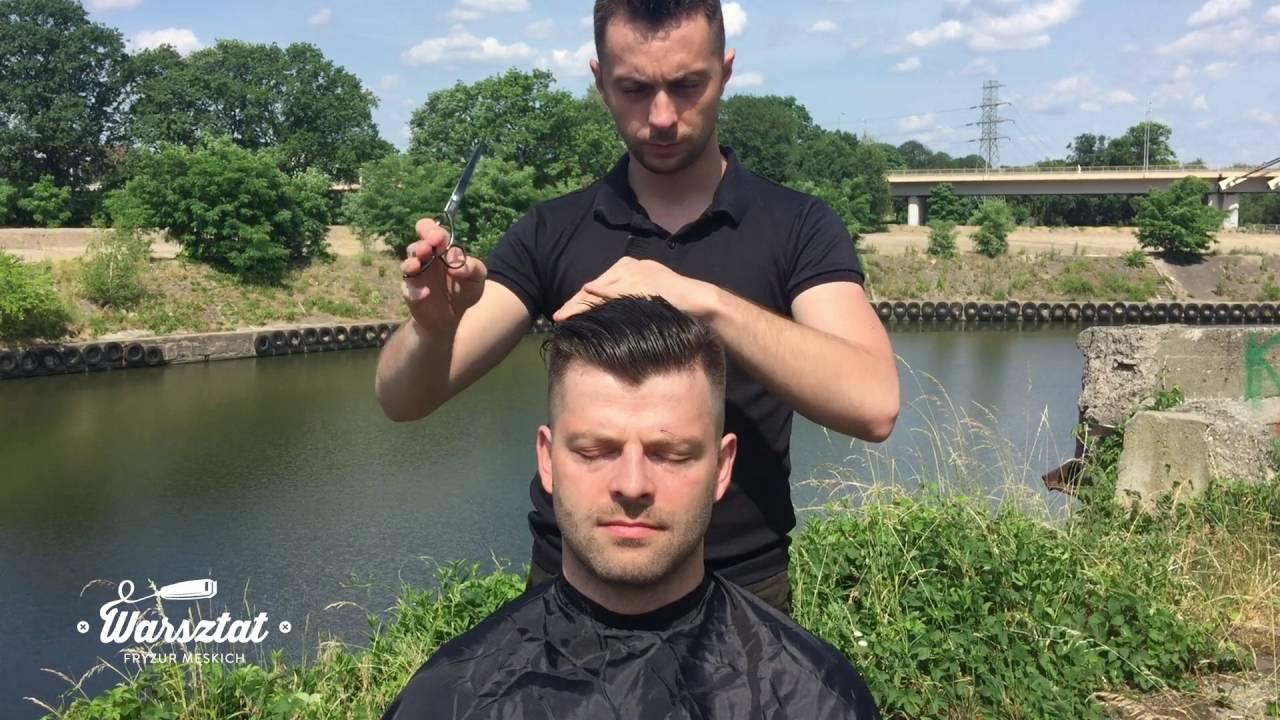 Barber Style Undercut Haircut