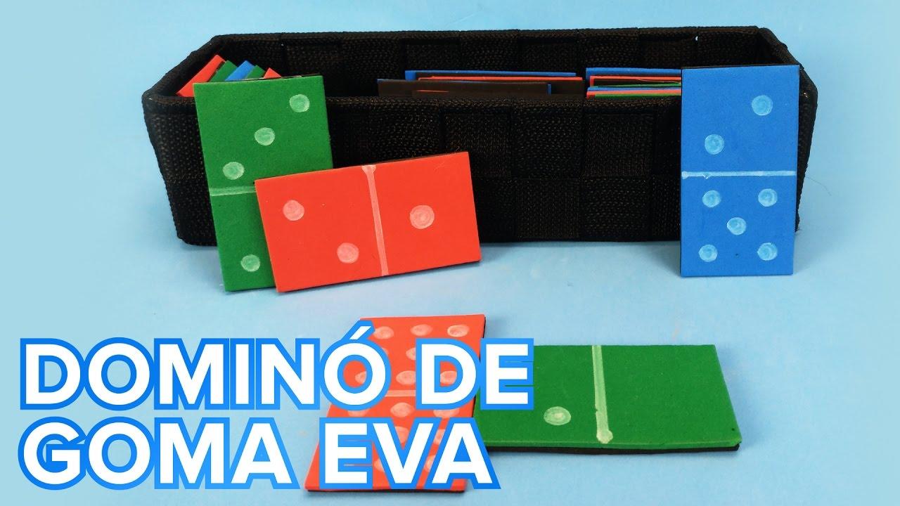 Goma Fáciles Dominó Casero Para Con Eva NiñosManualidades yI6gfYvb7m