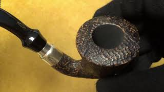 Video: Pipa Brebbia First Calabash Sabbiata - filtro 9mm