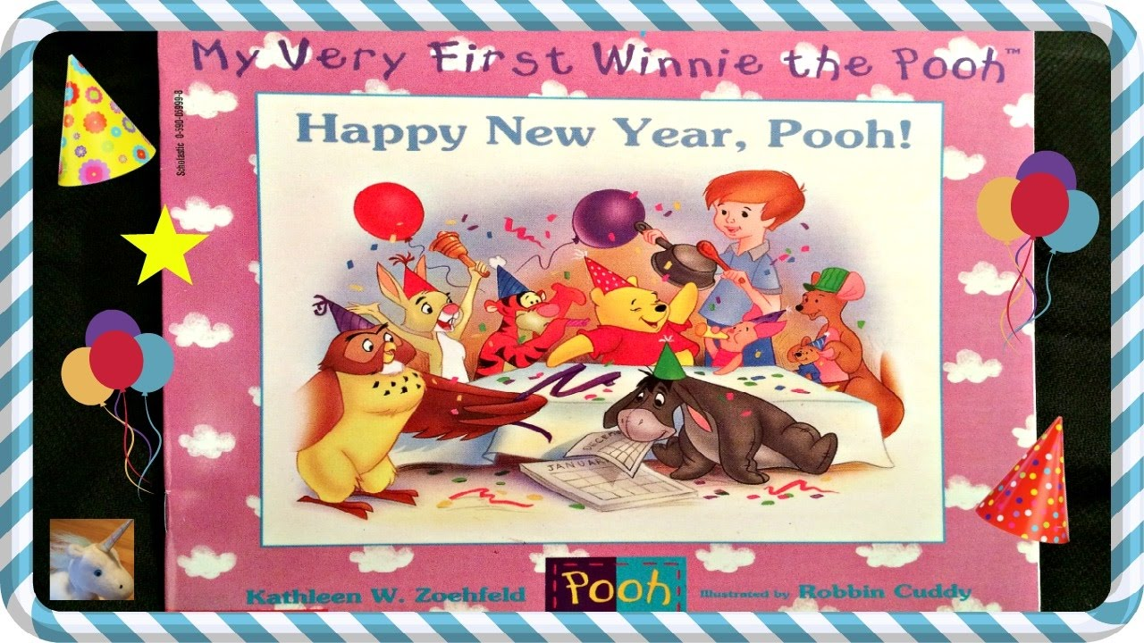 disney winnie the pooh happy new year pooh read aloud story book for kids children