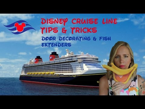 Disney Cruise Tips And Tricks - Door Decorating & Fish Extenders