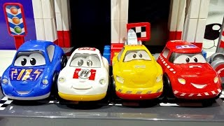 Racetrack Racing F1 Abrick Ecoiffier 4 Race Cars Included From Puppen Toys ★ For Kids Worldwide