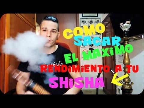how to make shisha smoke thicker