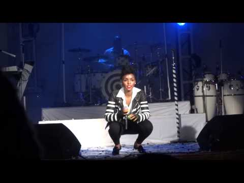 Janelle Monae Dancing at House of Blues, Anaheim