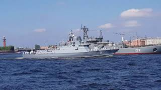 Парад на День ВМФ 2018 Санкт-Петербург